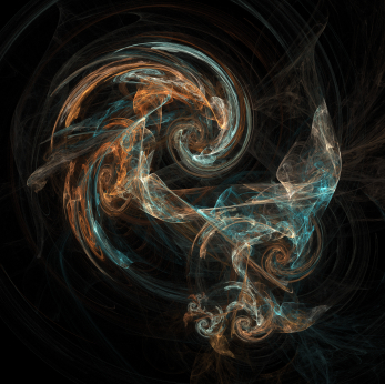 Iterative Flame Fractal