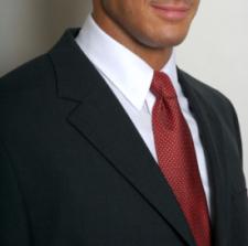 Man in Red Necktie