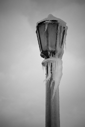 Frozen Lampost