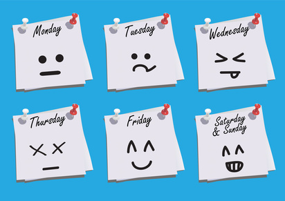your week on emoticons